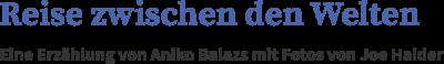 Logo: Reise zwischen den Welten
